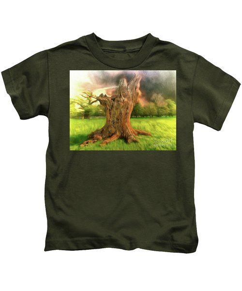 Once I Touched The Stars Kids T-Shirt