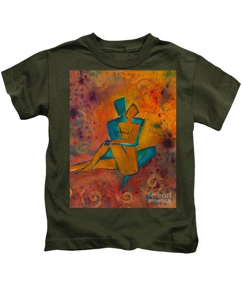 One Soul Divine Love Series No. 1002 Kids T-Shirt