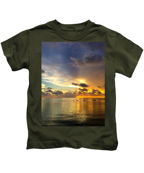 One Summer Night... Kids T-Shirt
