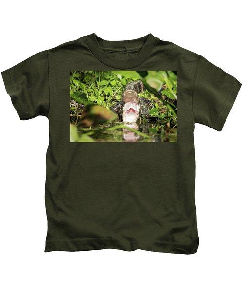 Open Wide Kids T-Shirt