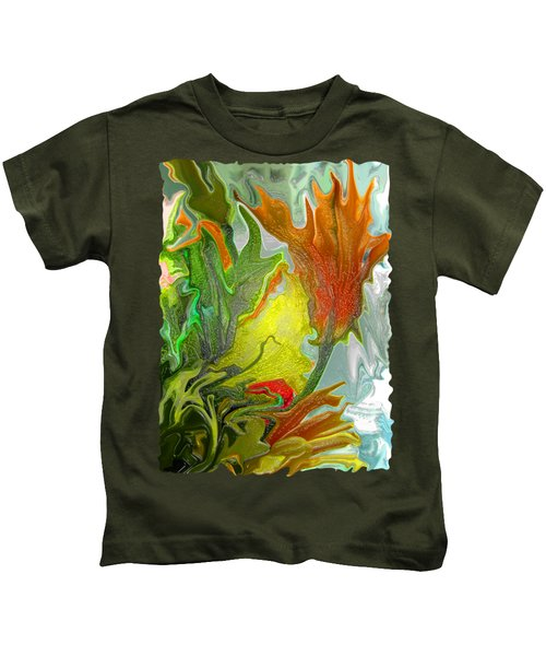 Orange Tulip Kids T-Shirt