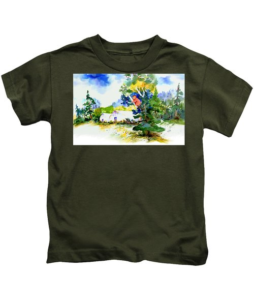 Orchard Springs Bear Kids T-Shirt