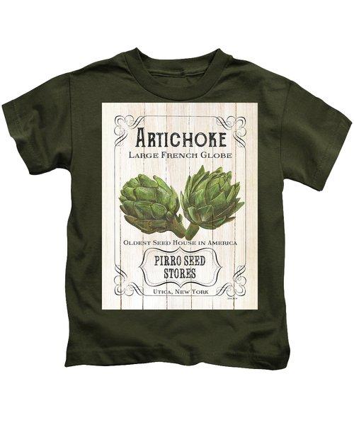 Organic Seed Packets 1 Kids T-Shirt by Debbie DeWitt