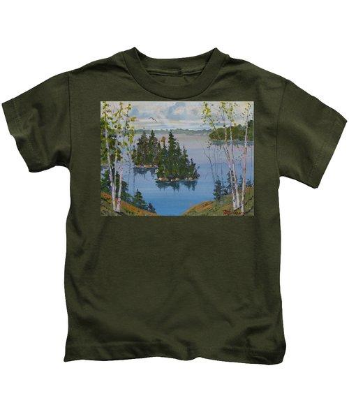 Osprey Island Study Kids T-Shirt