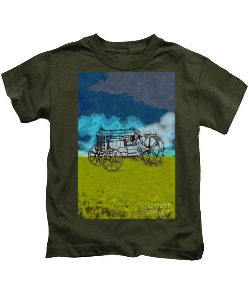 Out In The Field Kids T-Shirt