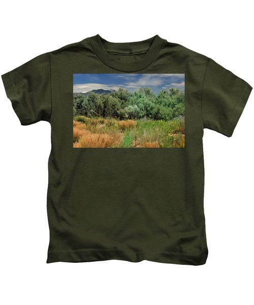 Out On The Mesa 1 Kids T-Shirt