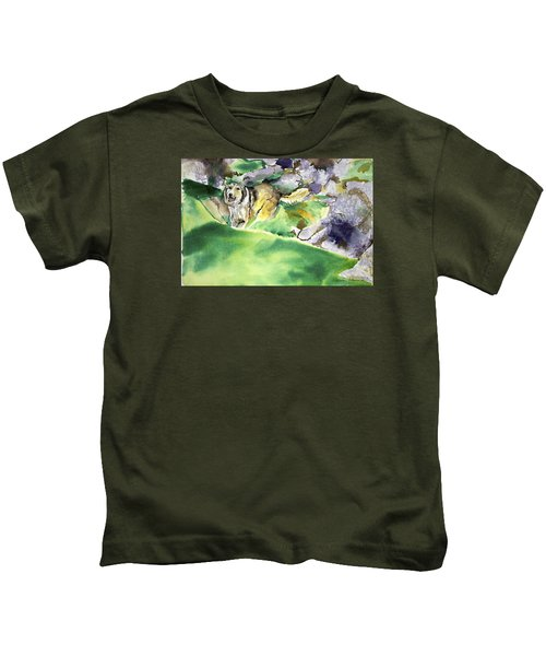 Over The Hill With Shep Kids T-Shirt