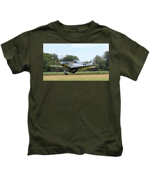 P-51 Takeoff Kids T-Shirt