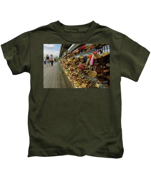 Padlock Bridge Kids T-Shirt