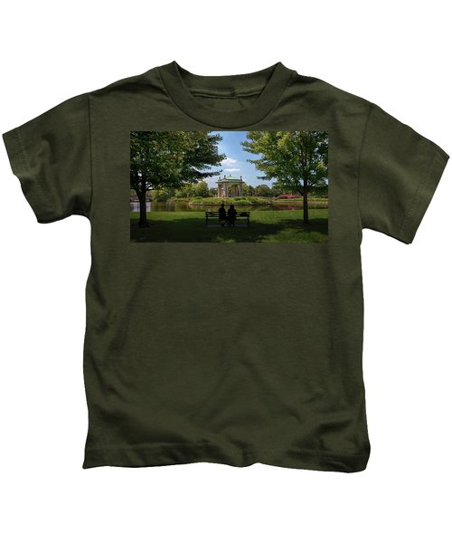 Pagoda Circle Interlude Kids T-Shirt