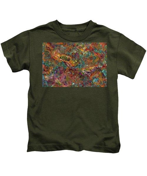 Paint Number 16 Kids T-Shirt