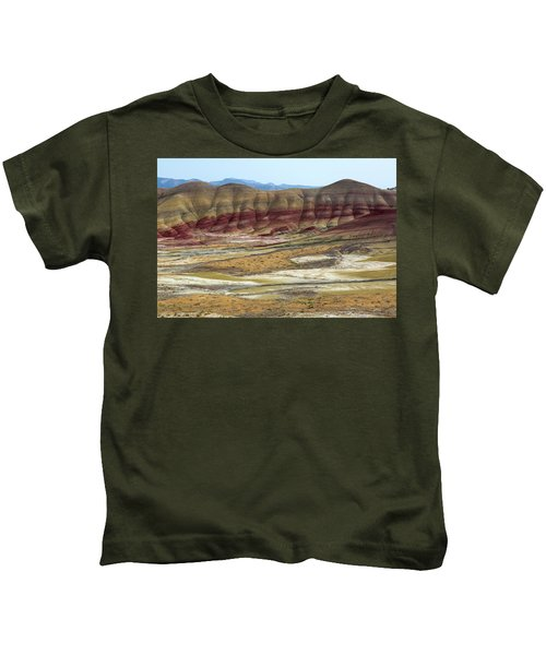Painted Hills View From Overlook Kids T-Shirt