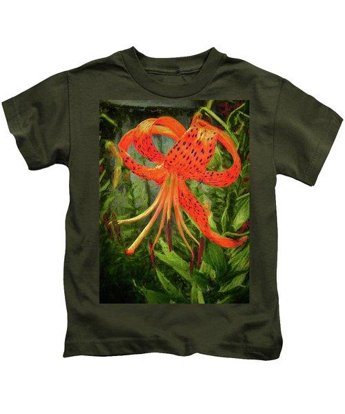 Painted Tiger Kids T-Shirt