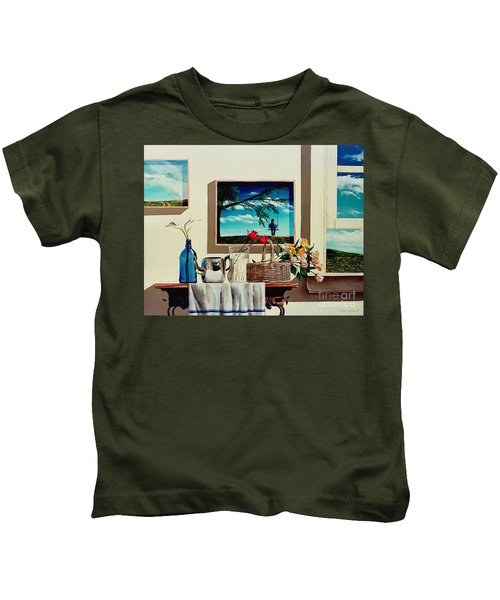 Paintings Within A Painting Kids T-Shirt