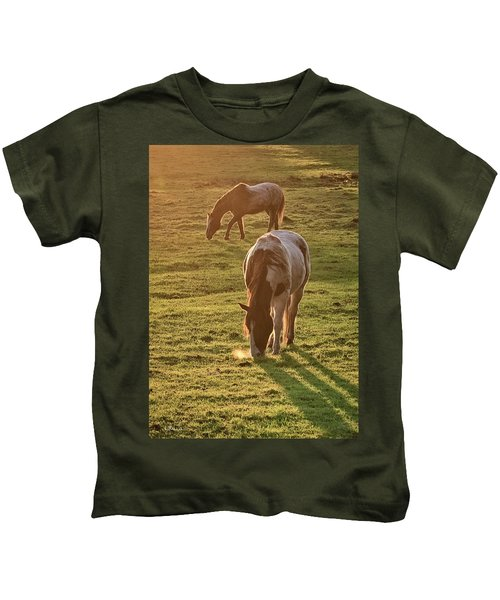 Paints Backlit Kids T-Shirt