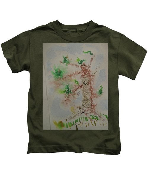 Palm Tree Kids T-Shirt