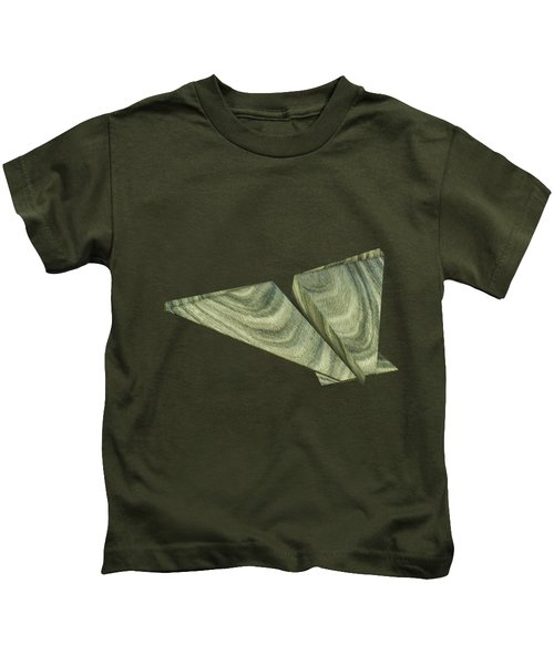 Paper Airplanes Of Wood 19 Kids T-Shirt