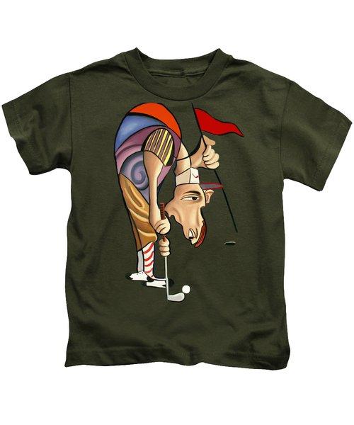 Par For The Course T-shirt Kids T-Shirt