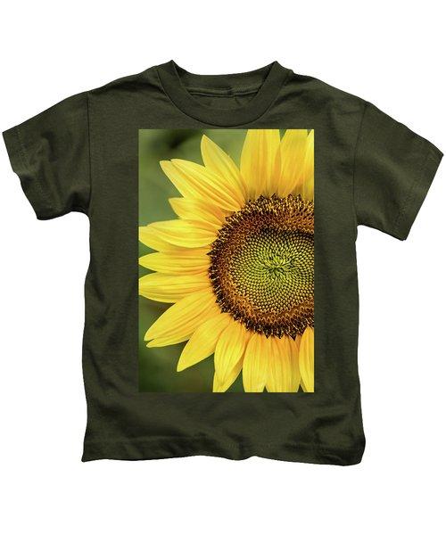Part Of A Sunflower Kids T-Shirt