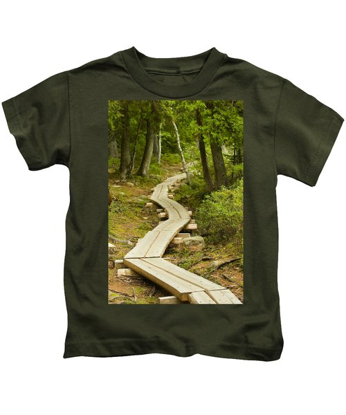 Path Into Unknown Kids T-Shirt