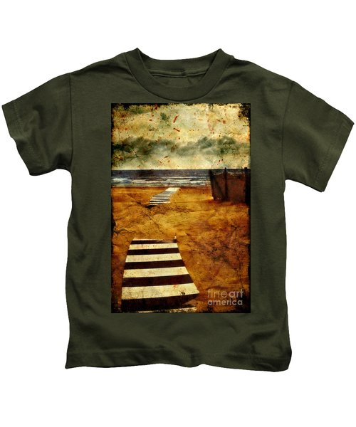Pathway To The Sea II Kids T-Shirt
