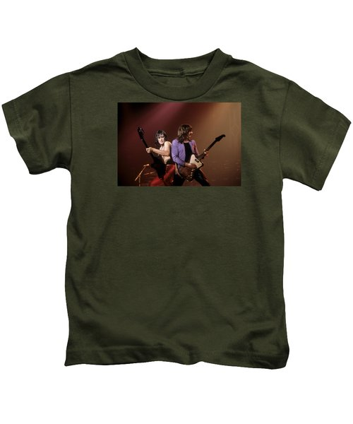Paul Chapman And Pete Way Of Ufo Kids T-Shirt