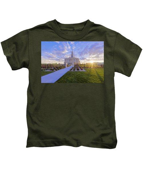 Payson Temple I Kids T-Shirt