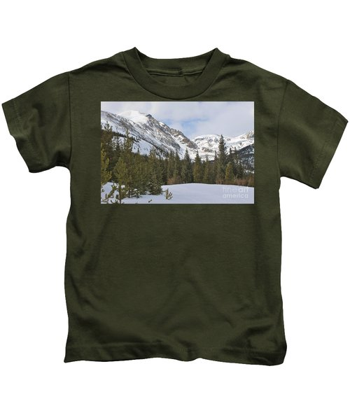 Peace In The Winter 2 Kids T-Shirt