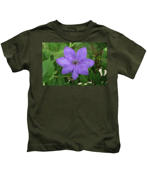 Clematis  Kids T-Shirt