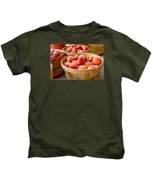 Peach Harvest Kids T-Shirt