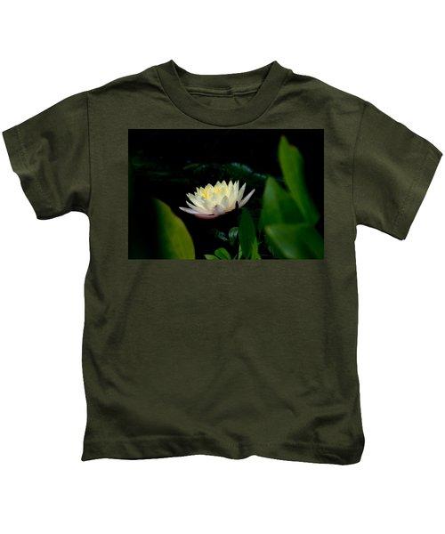 Peekaboo Lemon Water Lily Kids T-Shirt