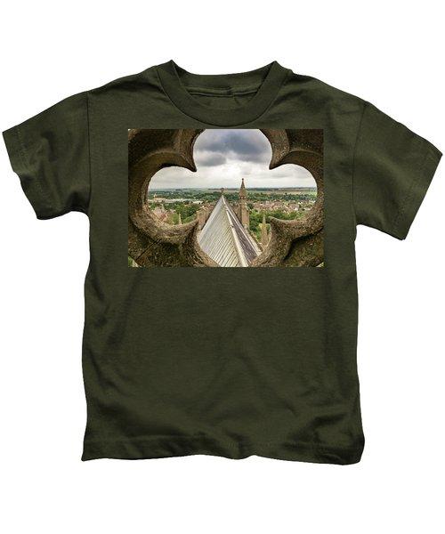 Peeking At Ely Kids T-Shirt