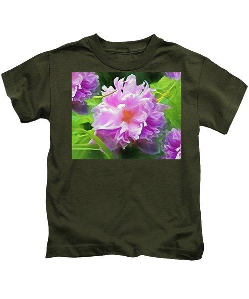 Peony Cluster 7 Kids T-Shirt