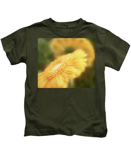 Petals Of Gold Kids T-Shirt