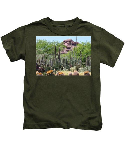 Phoenix Botanical Garden Kids T-Shirt