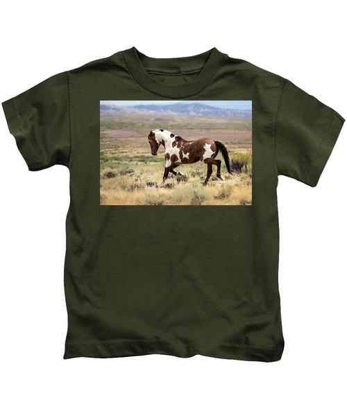 Picasso Strutting His Stuff Kids T-Shirt