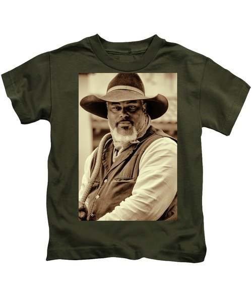 Piercing Eyes Of The Cowboy Kids T-Shirt