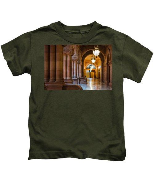 Pillar Hallway Kids T-Shirt