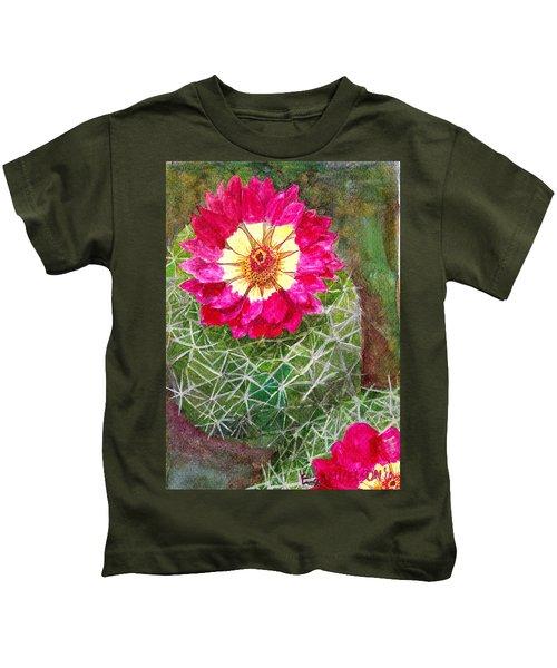 Pincushion Cactus Kids T-Shirt
