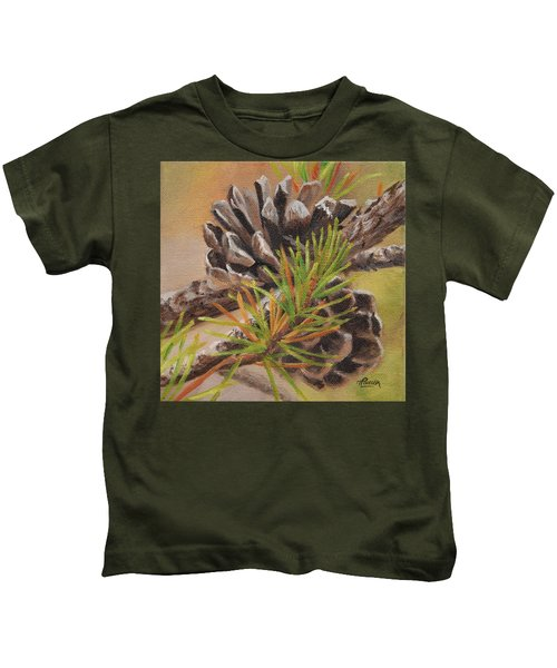Pine Cones Kids T-Shirt