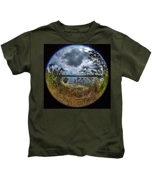 Pine Glades Lake 18 Kids T-Shirt