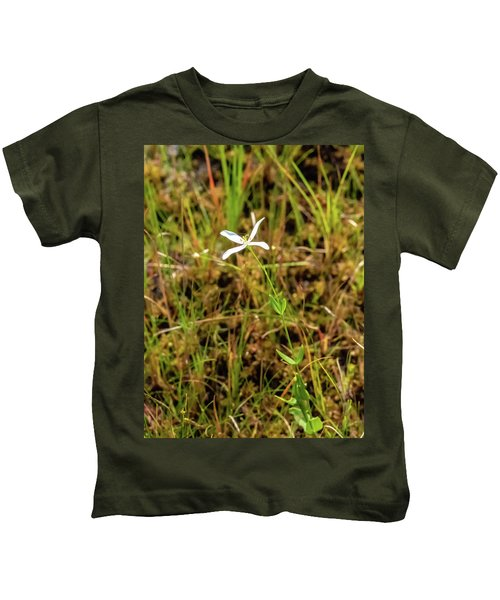 Pine Lands Endangered Plant Kids T-Shirt