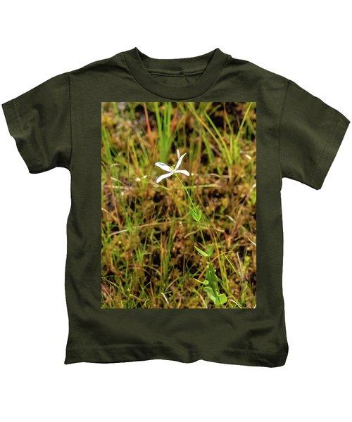 Pine Lands Endangered Plant Kids T-Shirt