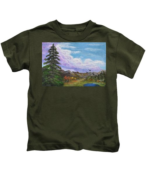 Pine Watches Eagles Kids T-Shirt