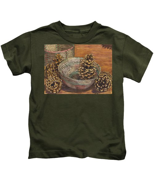 Pinecones Kids T-Shirt
