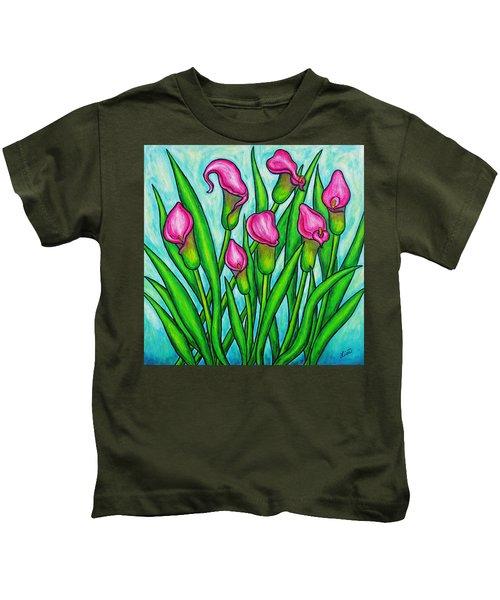 Pink Ladies Kids T-Shirt