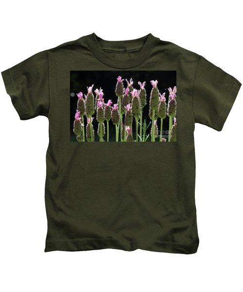 Pink Lavender Kids T-Shirt