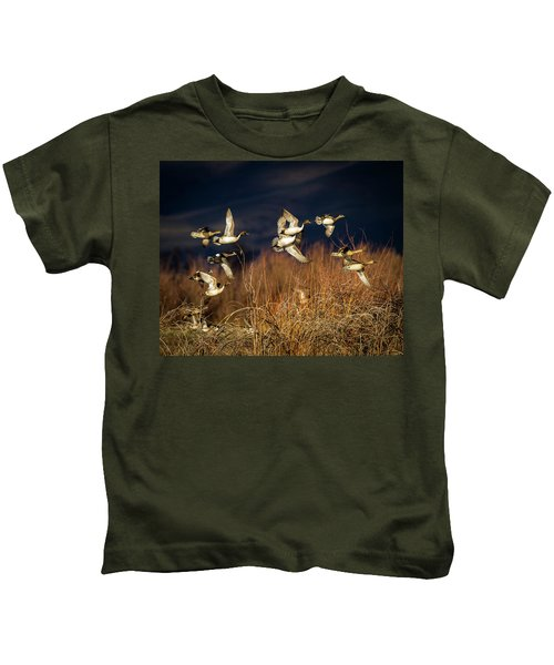Pintails And Wigeons Kids T-Shirt