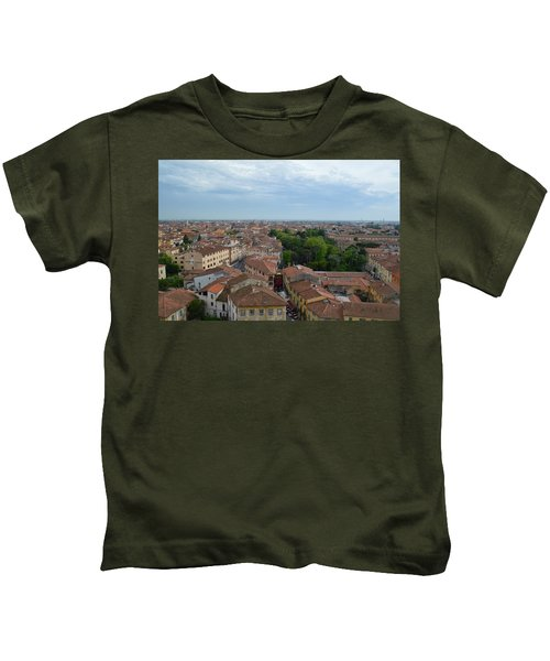 Pisa From Above Kids T-Shirt