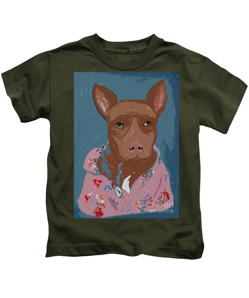 Pitty In Pajamas Kids T-Shirt